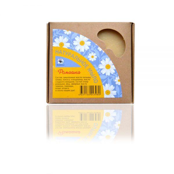Натурален сапун Лайка (Ромашка) 120гр