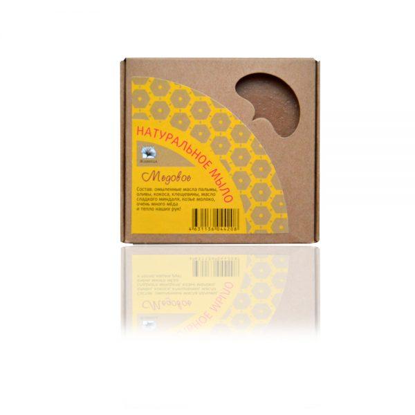Натурален сапун с козе мляко и мед (Медовое) 120гр