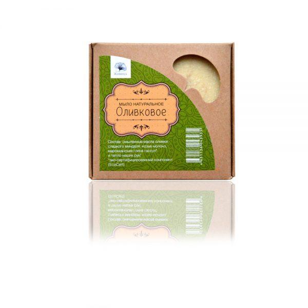 Маслина (Оливковое) натурален детски хипоалергенен сапун с козе мляко 120гр
