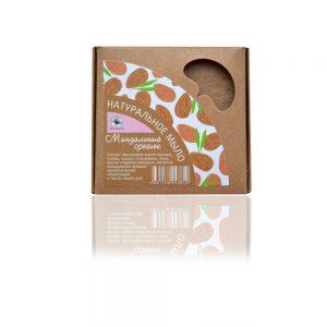 Натурален подхранващ сапун Орех и бадеми (МИНДАЛЬНЫЙ ОРЕШЕК) 120гр
