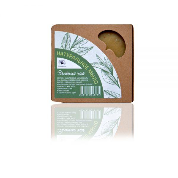 Натурален сапун Зелен чай 120гр