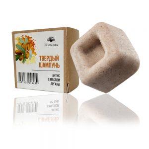 Натурален твърд шампоан Антик - хидратиращ, за суха коса - 50гр