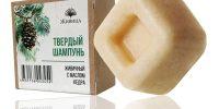 Натурален твърд шампоан Дъвка /Живичньiй/ - хидратиращ, с масло от кедър - 50гр