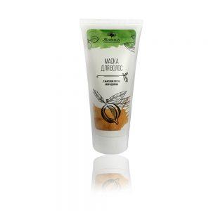 Натурална маска за коса с масло от макадамия - възстановяваща и хидратираща - 150мл