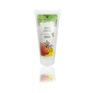 Натурална маска за коса с плодови екстракти - за тънки и бързо омазняващи се коси