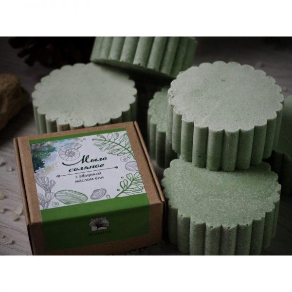 Натурален солен сапун с етерично масло от смерч